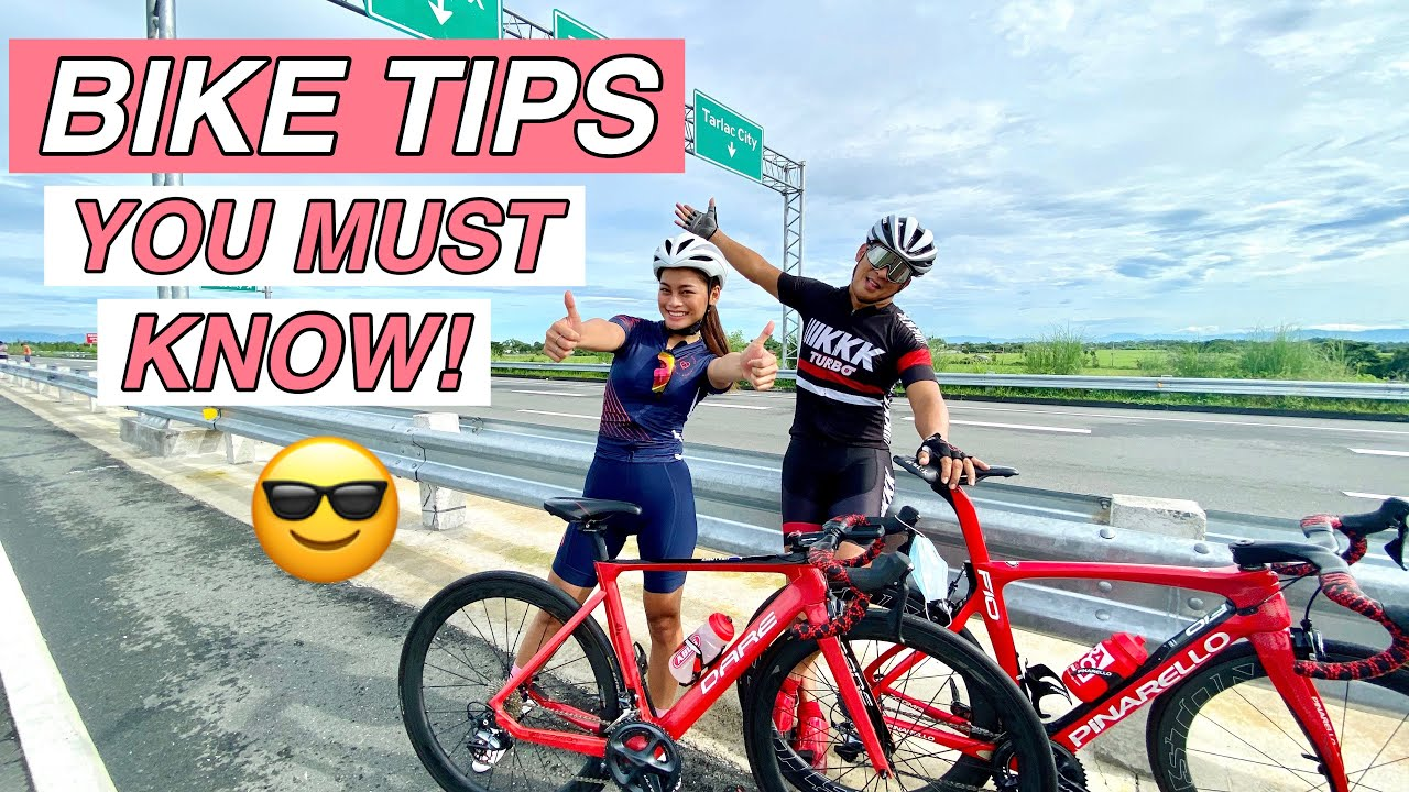 10 TIPS FOR NEWBIE CYCLISTS by Aira Lopez