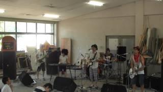 2012年愛知教育大学軽音楽部模擬ライブ super butter dog のコピーで曲...