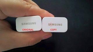 COPIA & ORIGINAL   Cargador Samsung Galaxy