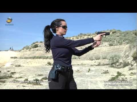 Spanish Police Woman - Automatic Action http://www.automaticholster.com
