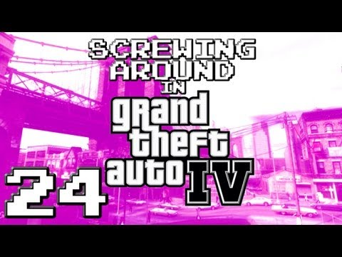 Screwing Around in GTA IV Pt24 w Chandler Riggs and Danz