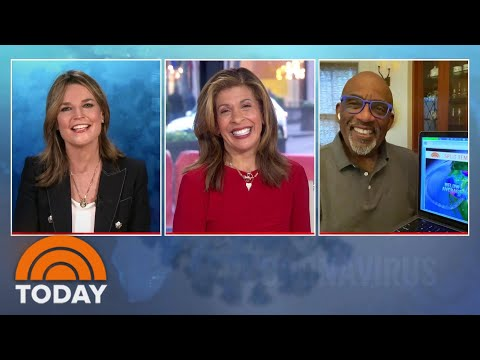Savannah Guthrie, Hoda Kotb And Al Roker Anchor TODAY From 3 Different Locations   TODAY