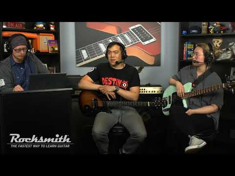 Rocksmith Remastered - 5 Seconds of Summer Song Pack - Live from Ubisoft Studio SF