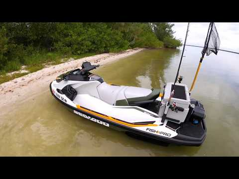 Sea-Doo FISH PRO Watercraft Technical Overview