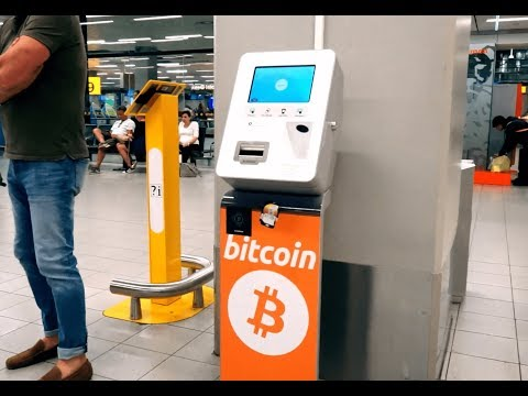 BITCOIN ATM   🛩IN AN AIRPORT ✈️
