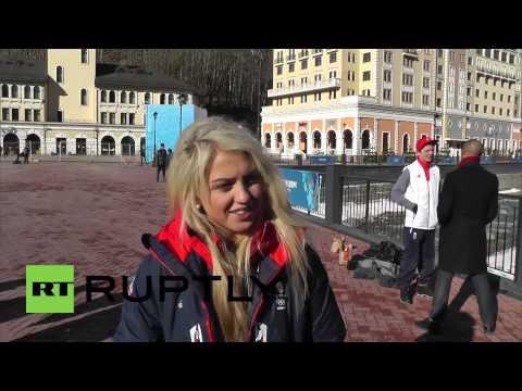 Russia: UK slopestyler Aimee Fuller 'feeling safe in Sochi'