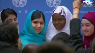 الناشطة الباكستانية ملالا إلى نادي الأغنياء في بريطانيا