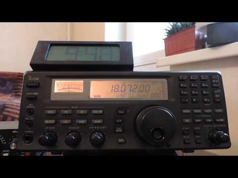 18072khz,Ham Radio,CX7CO(Montevideo,Uruguay)