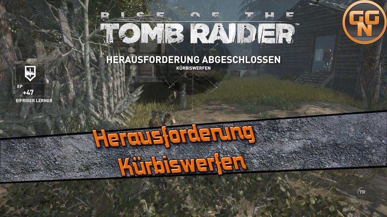 Tomb Raider Herausforderungen