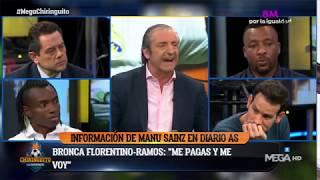 Josep Pedrerol DESVELA cómo fue la BRONCA FLORENTINO - RAMOS en el VESTUARIO