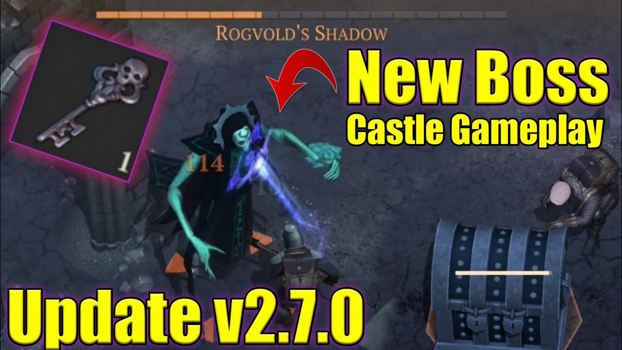 Grim Soul Dark Fantasy : #504🔥Update v2.7.0 | Castle Epic New Boss | A lot of Ghosts🔥
