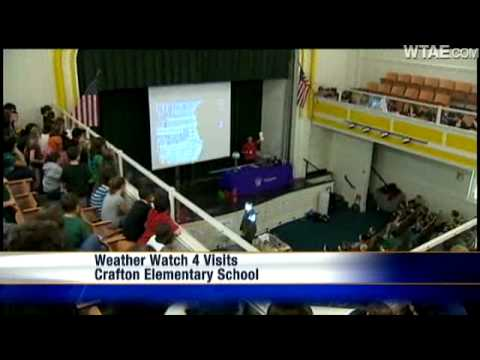 Weather Watch 4 School Visit: Crafton Elementary School