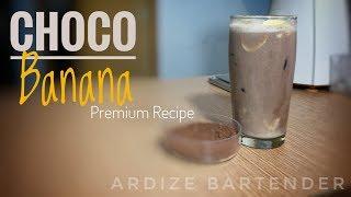 Resep minuman - Ice Chocolate Banana