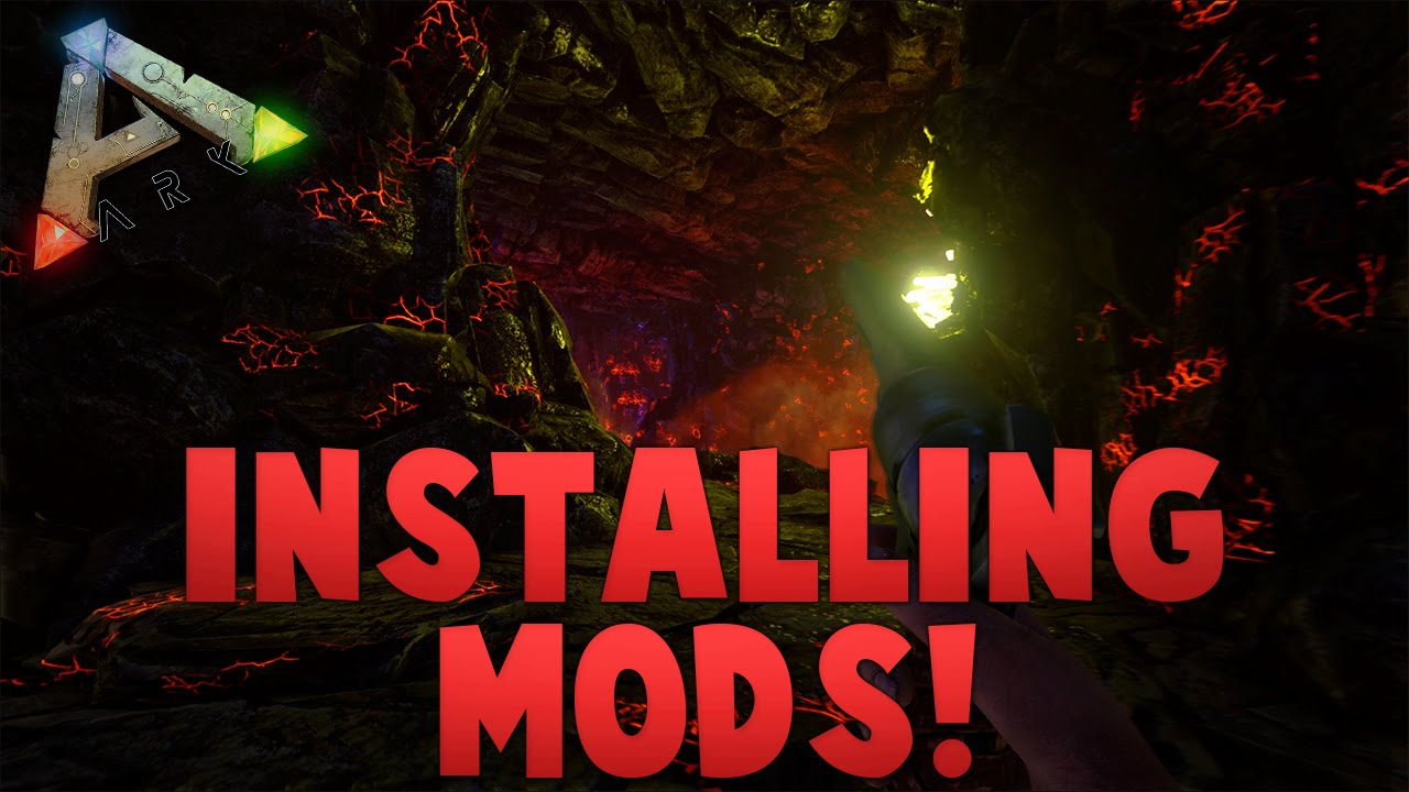 ark survival evolved install mods without steam