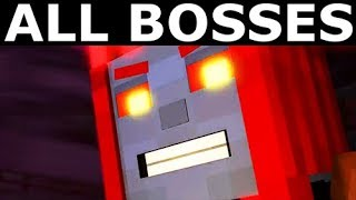 Minecraft: Story Mode Season 2 Episode 5 - All Bosses, All Boss Fights Gameplay (No Commentary)