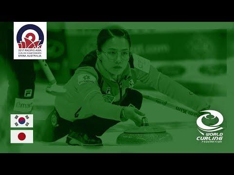 Korea v Japan - Women - Round-Robin - Pacific-Asia Curling Championships 2017