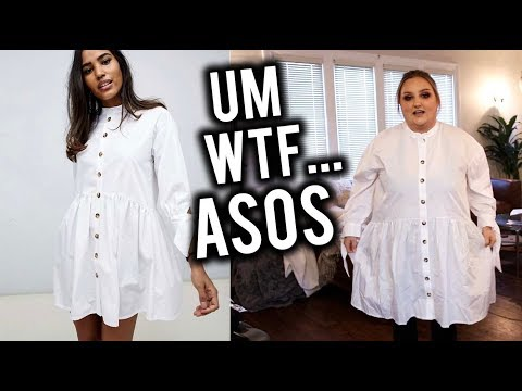 I BOUGHT $1000 WORTH OF ASOS CLOTHING AND... YIKES