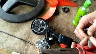 sửa  chữa roto kém chất lượng quạt ù
