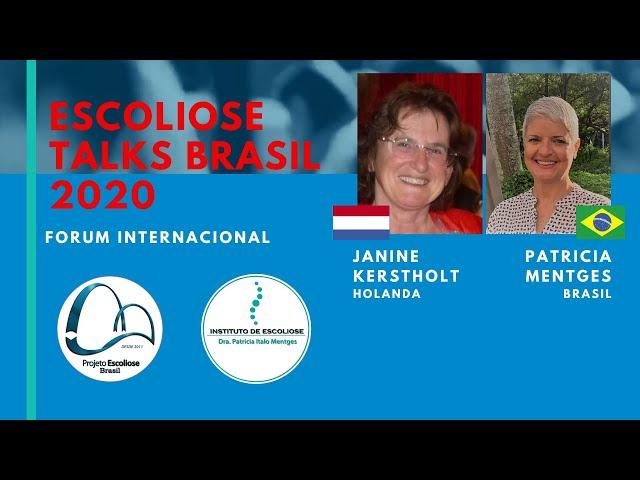 Melhorar a escoliose: é possível?  Janine Kerstholt MSc  Escoliose Talks Brasil 2020