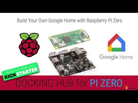 DIY Google Home With Bluetooth Speaker on Raspberry Pi Zero Docking