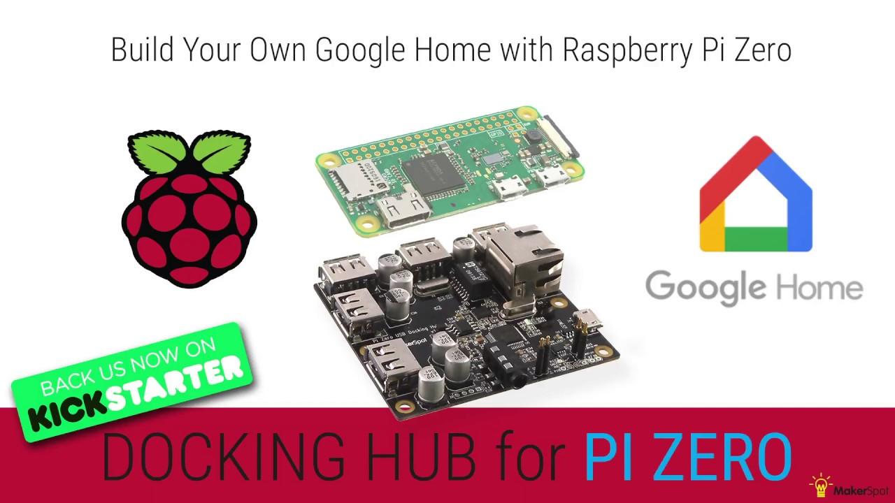 DIY Google Home With Bluetooth Speaker on Raspberry Pi Zero