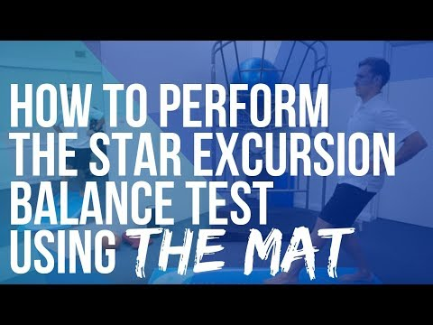 How To Perform The Star Excursion Balance Test Sebt