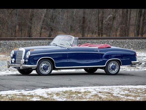 1960 mercedes benz 220 se cabriolet youtube. Black Bedroom Furniture Sets. Home Design Ideas