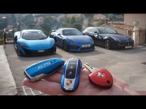 Top 10 coolest Supercar Keys | Concept keys of Sports Car