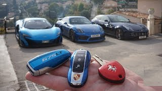 Top 10 coolest Supercar touch Keys | Concept keys of Sports Car