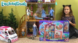 Video Frozen Princess Story with Anna and Elsa, Barbie Ambulance and Enchantimals: Little Anna is Sick download MP3, 3GP, MP4, WEBM, AVI, FLV November 2018
