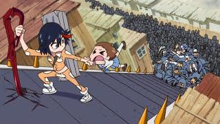 ЗОРмания - Обзор аниме Kill la Kill / Килл ла Килл (Metalrus)