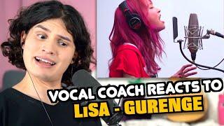 Vocal Coach Reacts to LiSA - Gurenge (Demon Slayer Opening)
