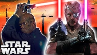 How Powerful Would DARK Side MACE WINDU Be? - Star Wars Explained