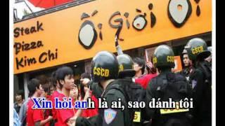 Karaoke Anh Là Ai (LEFT:Việt Khang - RIGHT: No Voice)