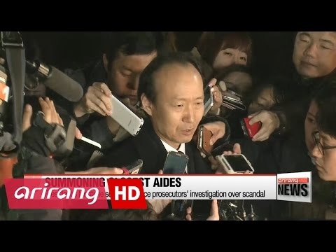 ARIRANG NEWS BREAK 10:00 Head of main opposition calls for one-on-one with president over scandal
