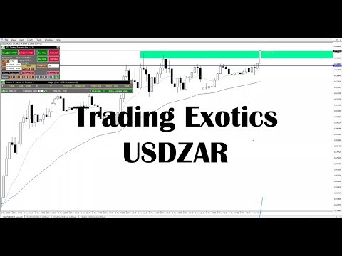 Trading Exotics USDZAR #18