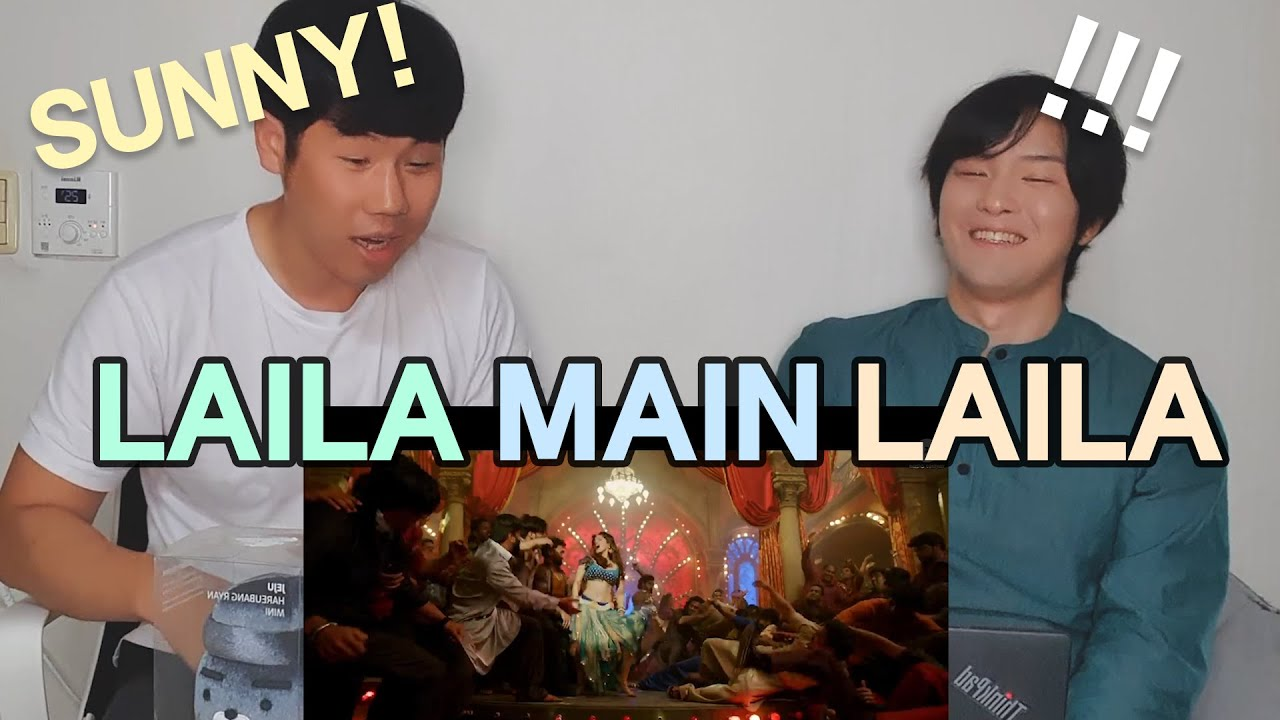 First Time Seeing Sunny Leone❣ | Laila Main Laila Reaction by Koreans | Raees |  SRK x Sunny Leone