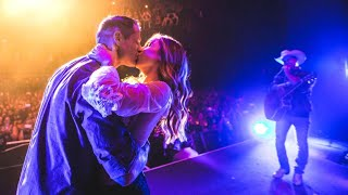 Country Star Dustin Lynch Helps California Firefighter Propose During Show Video