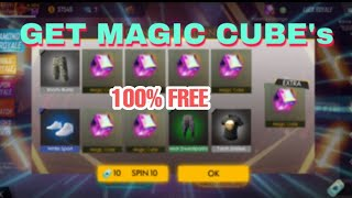 How to get Magic Cube, Night Clown, Joker and Rare items in Garena Free Fire | 2019 Trick