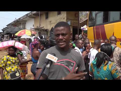 Coronavirus :  Isolement du grand Abidjan, ambiance dans les gares routières