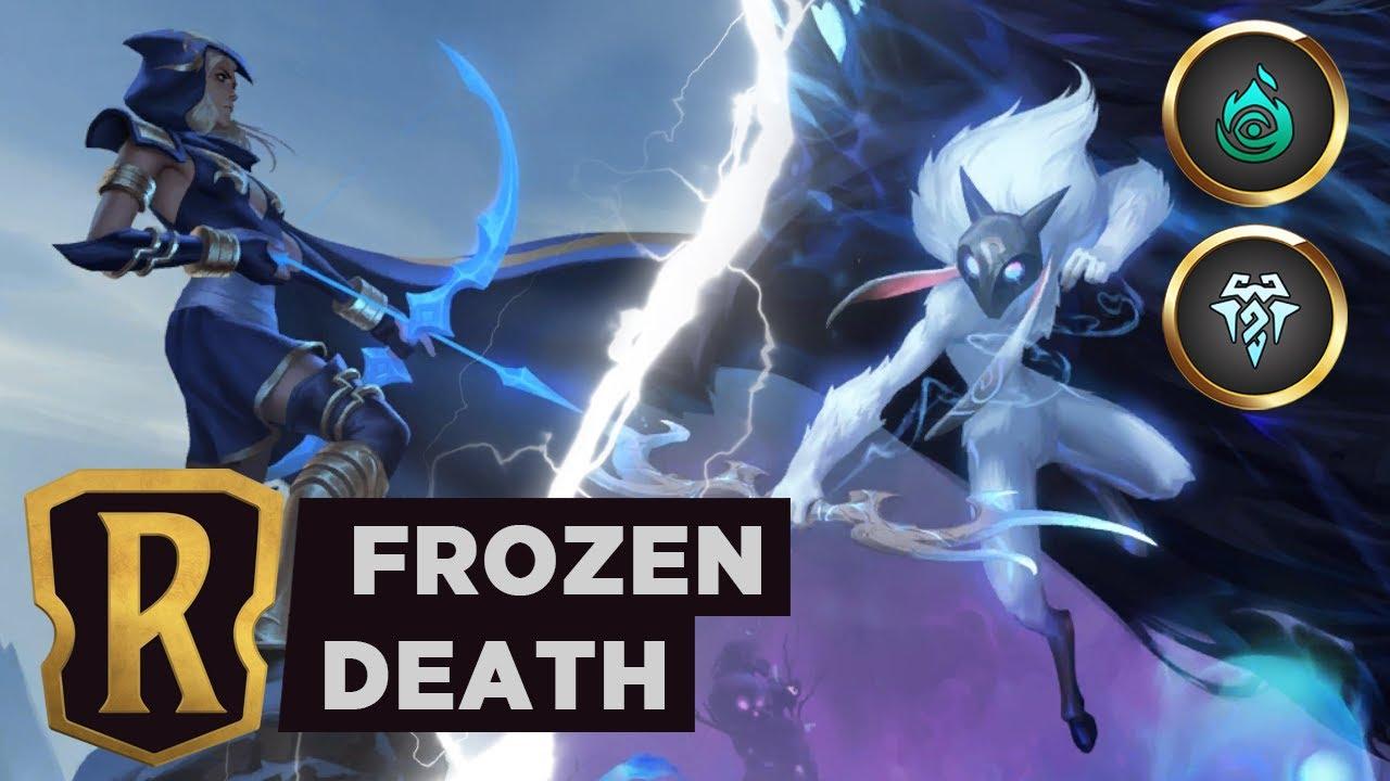 ASHE & KINDRED Frostbite Midrange | Legends of Runeterra Deck