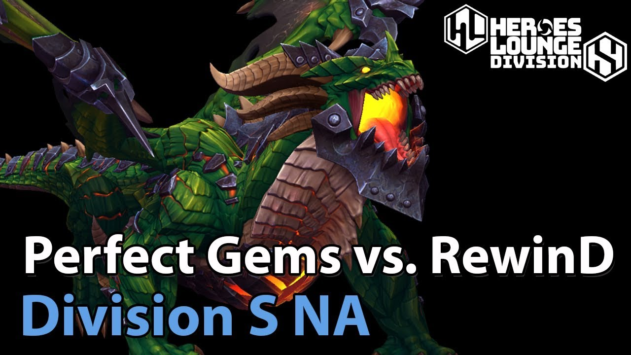 ► Division S NA - RewinD vs. Perfect Gems - Heroes of the Storm Esports