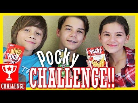 THE POCKY CHALLENGE!  |  KITTIESMAMA