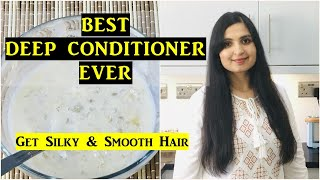 Deep Conditioning For Extremely Dry Frizzy Damaged Color Treated Hair at Home Samyuktha Diaries