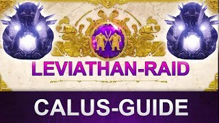 Destiny 2 Leviathan-Raid: Calus Endboss Guide (Deutsch/German)