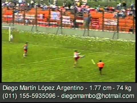 """Diego Lopez - Real Arroyo Seco """"Torneo Argentino A"""" 2006/08"""