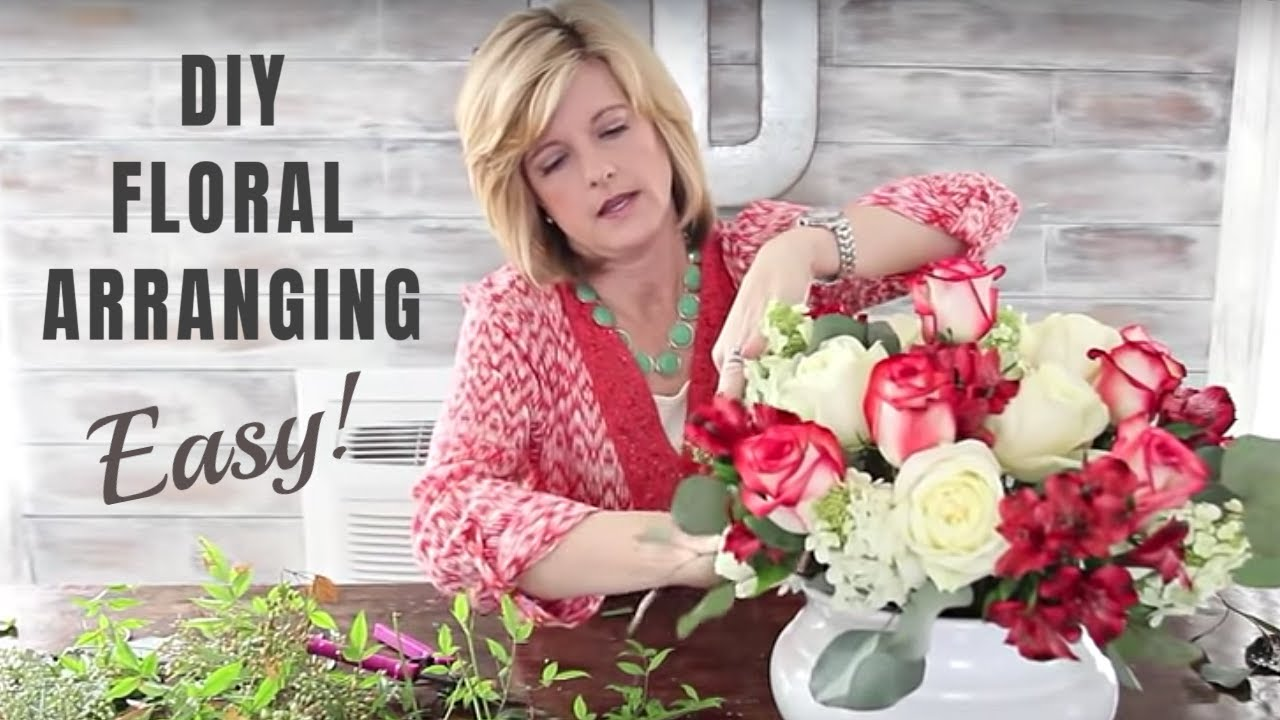 How To Make Floral Arrangements And Great Floral Design Diy Youtube