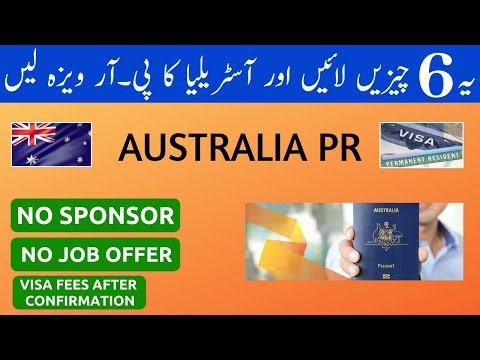 HOW TO GET AUSTRALIA PERMANENT RESIDENCY (PR) IN 2020 | SUBCLASS 189 POINTS BASED