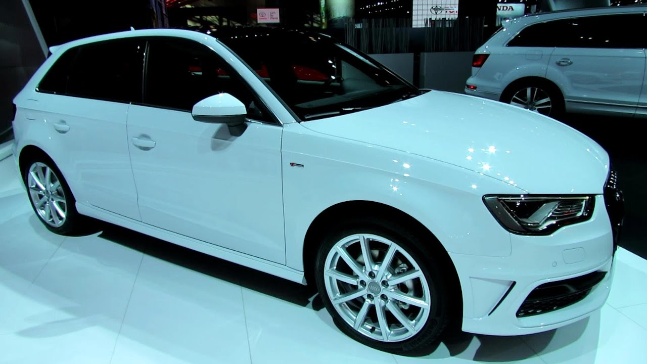 2015 audi a3 tdi sportback exterior and interior walkaround 2014 new york auto show youtube. Black Bedroom Furniture Sets. Home Design Ideas