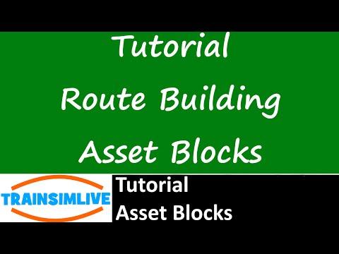 Let's Play Train Simulator 2016 Tutorial - Asset Blocks